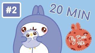 Molang MEET AMAZING ANIMALS #2 | #MyBestPets | Cartoon for Kids - Molang & Piu-Piu