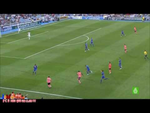 Getafe Vs F.C Barcelona 0-2 Amplio Resumen Goles Messi & Ibrahimovic (12.09.09)