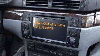 BMW e46 Navigation Install   Eonon GA8150A