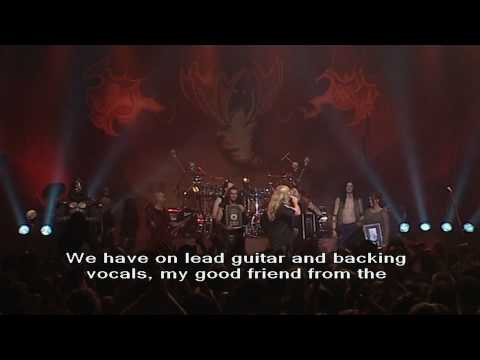 HammerFall - Gold Album Award (Live at Lisebergshallen, Sweden, 2003) 1080p HD