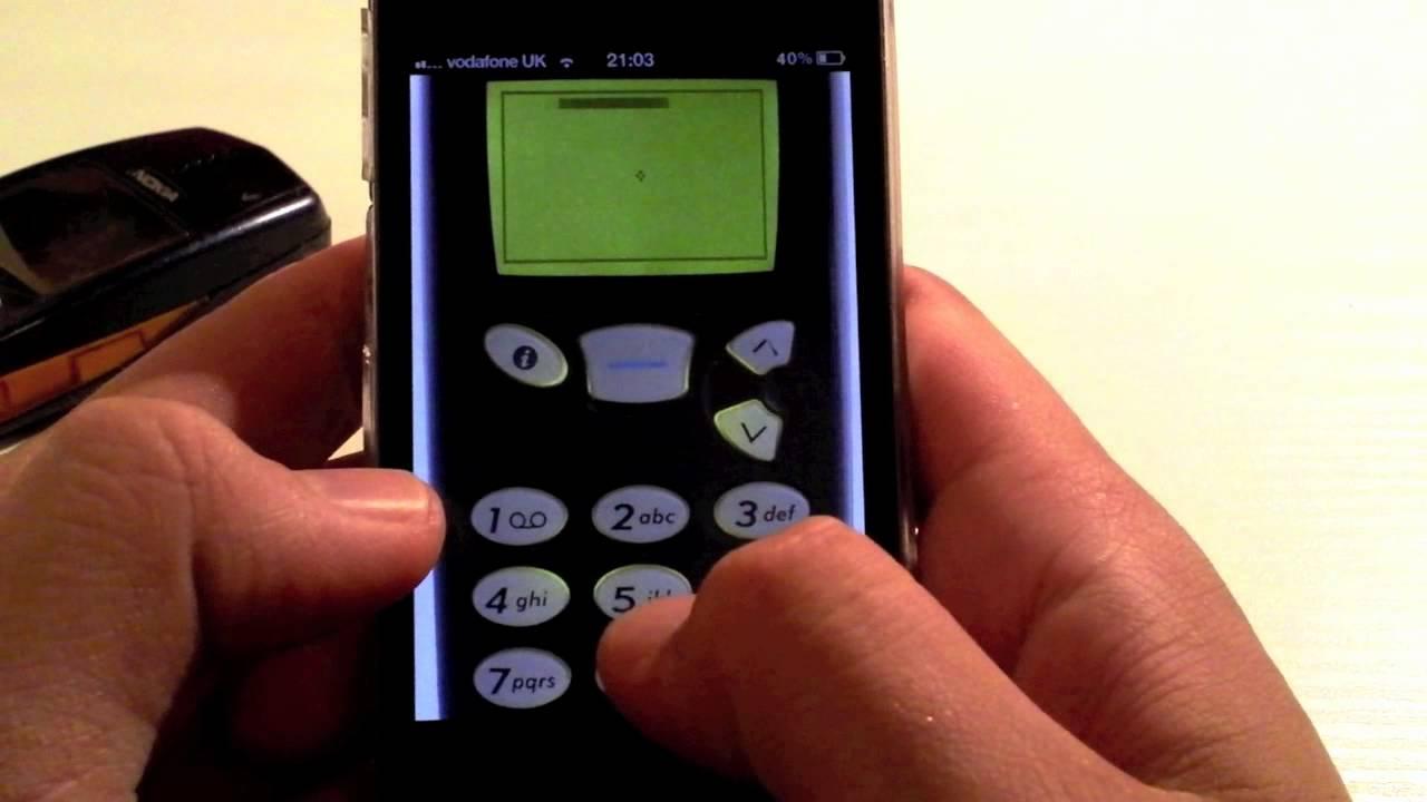 Nokia 5150 Snake on the Nokia