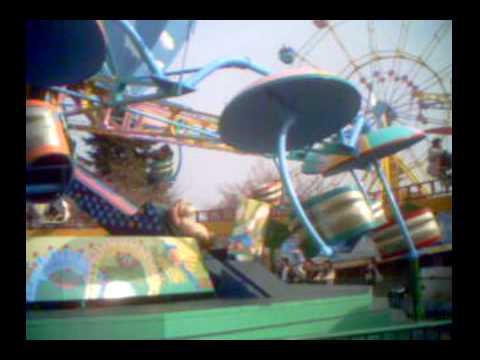 王子動物園の遊園地
