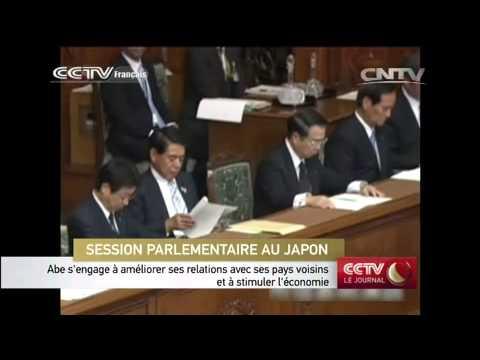 Shinzo Abe s'engage à améliorer ses relations avec ses pays voisins