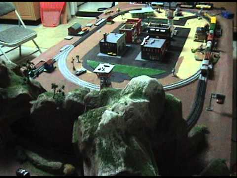 8x4 Ho Scale Train Table Layout Youtube