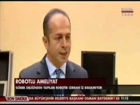 Habertürk Davinci Robot Prof Dr Fatih Şendağ 18.11.2013