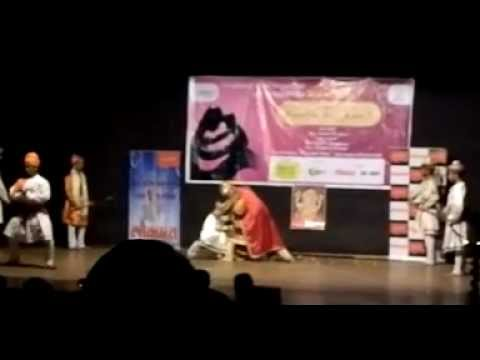 Shivaji Wangde-powada Of Shivaji Maharaj Metting Afzal Khan armiet  College video