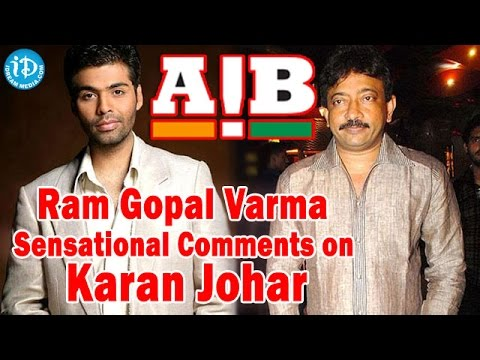 RGV Sensational Comments on Karan Johar's AIB Knockout