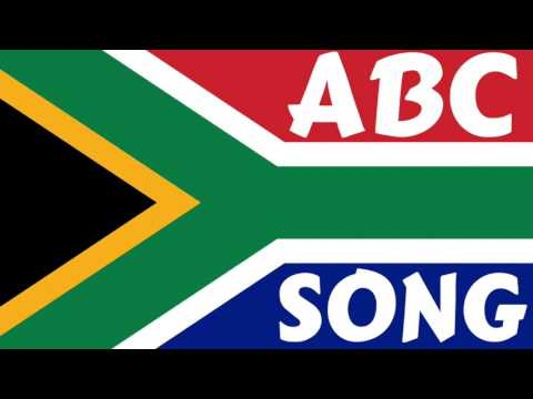 SOUTH AFRICA ABC Song (The Alphabet Song)- Nursery Rhymes - ABC Songs for Children - English