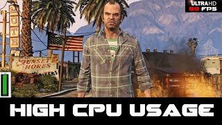 GTA 5 High CPU Usage Fix - 1440p 60 FPS