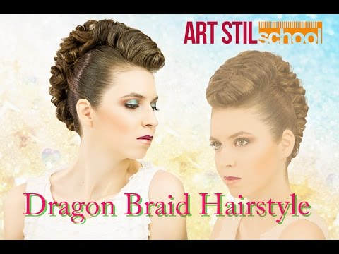 Dragon Braid Hairstyle