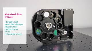Motorized filter wheels with built-in controllers | Zaber | Laser 2000