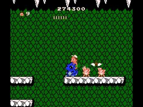 Adventure Island 2 - Adventure Island 2 Part 8 Finale! (NES) - User video