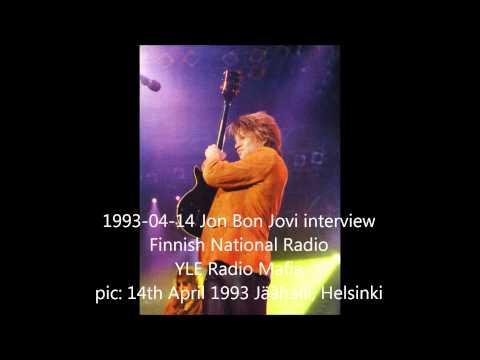 Jon Bon Jovi interview 14th April 1993, Finnish National Radio, Yle Mafia