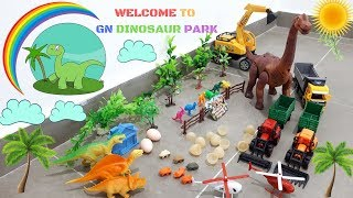 Dinosaur Toys Park Fun Toys for Kids | Learn Colors and Numbers with Dinosaurs Toys