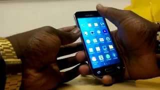 Samsung Galaxy S5 Mini Kutu Açılımı