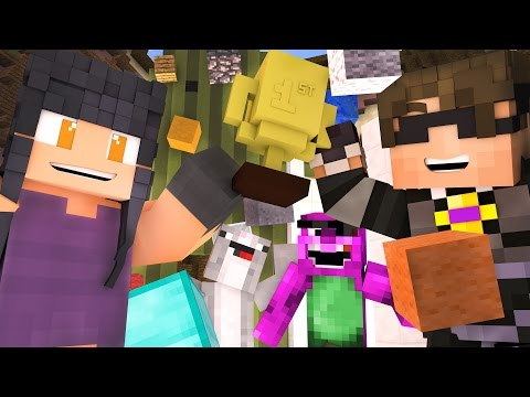 Minecraft BUILD BATTLE Mini-Game - JESS STOP WINNING!