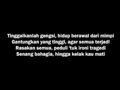 Bondan Prakoso & Fade2Black   Hidup Berawal Dari Mimpi Lyrics   YouTube