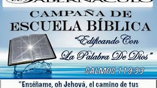 Culto: Campania de Escula Biblica