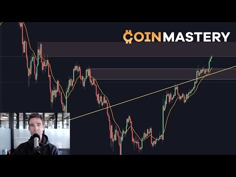 Bitcoin Takes Off! Testing $9400, EOS, BNB, OMG, Federal Reserve, S&P, Trade Decisions - Ep190