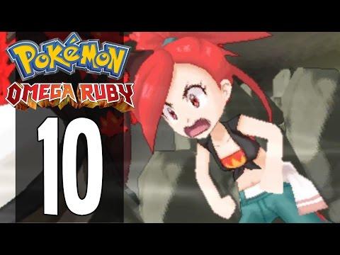 Pokemon Omega Ruby - Part 10 - Gym Leader Flannery (Gameplay Walkthrough)