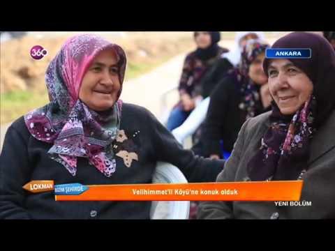 TV360 LOKMAN BİZİM ŞEHİRDE GÖLBAŞI  VELİHİMMETLİ MAHALLESİ ETLİ PİLAV TANITIMI