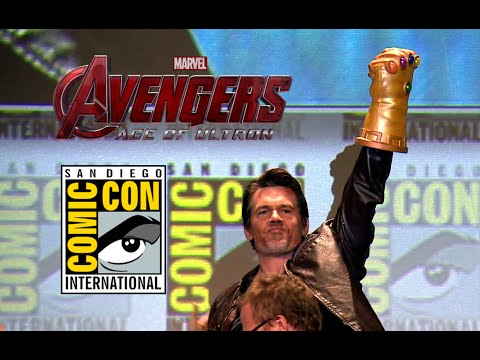 Comic Con 2014: Avengers 2: Age of Ultron Hall H Panel - Part 2 (2014) Marvel Movie HD