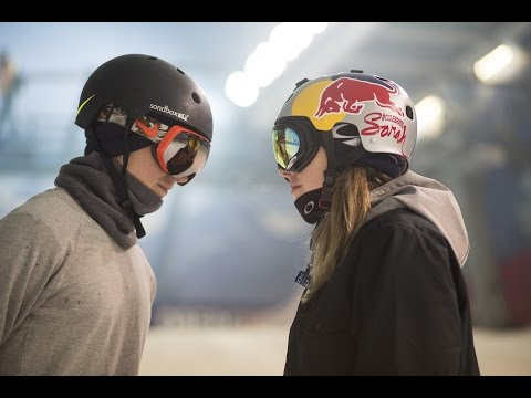 Skiers Vs Snowboarder