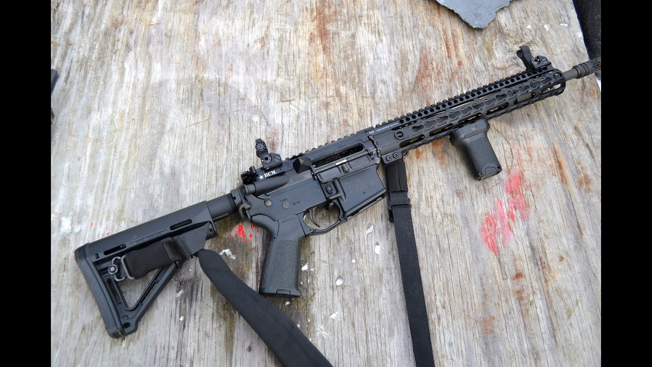... Company Man... Ar 15 Iron Sights Review