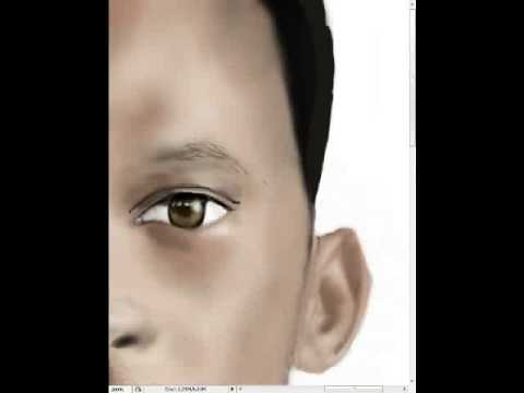 Will Smith Speed Painting
