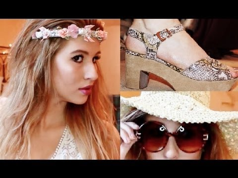 HUGE SUMMER HOLIDAY HAUL. PRIMARK, TOPSHOP, KURT GEIGER, REPUBLIC. || Hannah Leigh.