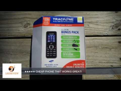 Tracfone Samsung S125G BUNDLE   Review/Test