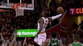 Every LeBron James Tomahawk Dunk! Signature Move!