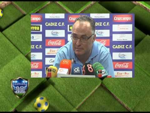 Rafa Muñoz en previa Cádiz-El Palo (14-11-14)