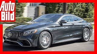 Mercedes-AMG S63 Coupé (2017) Review/Test/Details