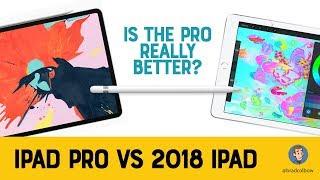 New iPad Pro vs 2018 iPad - Is it Worth It?