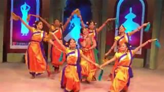 BTV Tarana Dance Shooting  komola sundhori nache   bangladeshi folk dance
