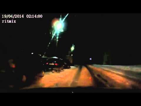 Amazing meteor Meteorite explodes over Murmansk Russia April 19 Kola Peninsula