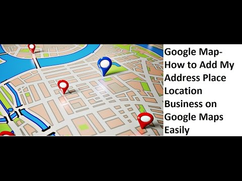 How To Add My Address Place Location Business Address