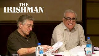 The Irishman First Table Read | Netflix