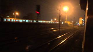 SEALDAH - PURI DURONTO EXPRESS GALLOPS BRIGHTLY LIT DUM DUM Jn.