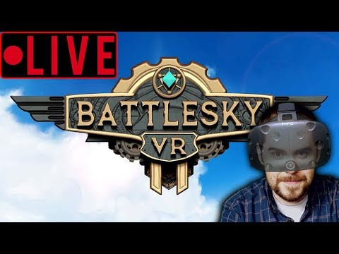 FLYING VR MOBA?! Early look at Upcoming: BattleSky VR