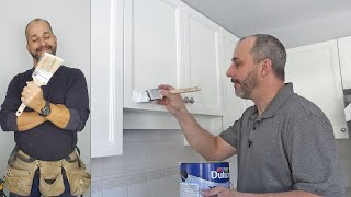 DIY How to Paint Your  Kitchen Cabinets A to Z
