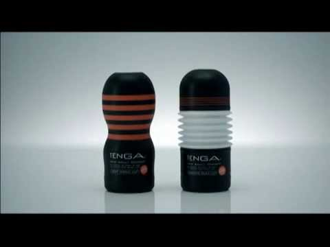 Tenga Deep Throat Cup (black & White) video