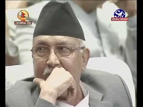 Heart Touching Speech In Parliament of Nepal by Shubhash Nem