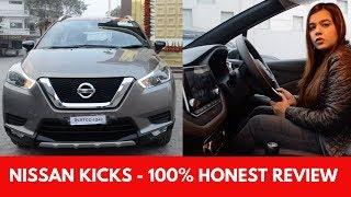Nissan kicks price in India 2019 | Nissan Kicks Review - Mileage, Interiors, Features