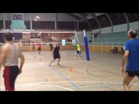 Voleibol - Ejercicios de Dedos y Recepción 1