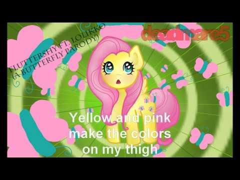 Fluttershy Ft. Lolikko (a Parody Of Butterfly By Smile.dk) video