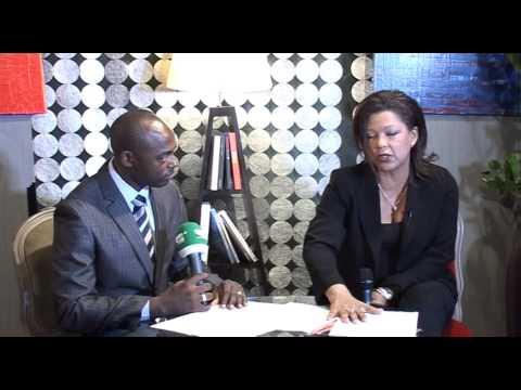ENTRETIEN PRIVE avec  MARIE REINE HASSEN , ancienne ministre centrafricaine.