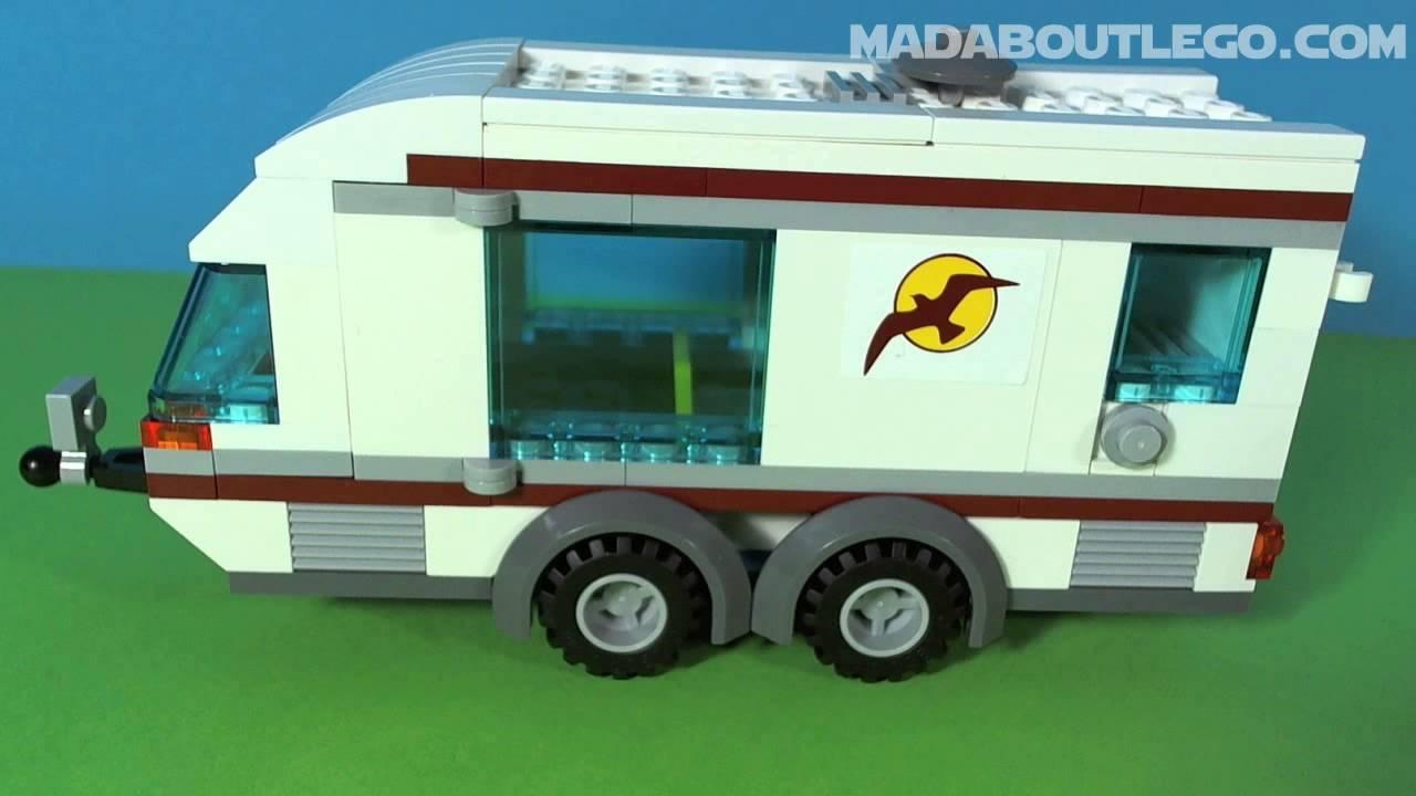 lego city car and caravan 4435 instructions