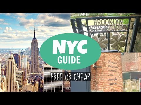 NYC Travel Guide // Free or Cheap Things to Do